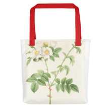 Load image into Gallery viewer, vintage flower print illustration 7 Tote bag - FRANKdesigns.Co