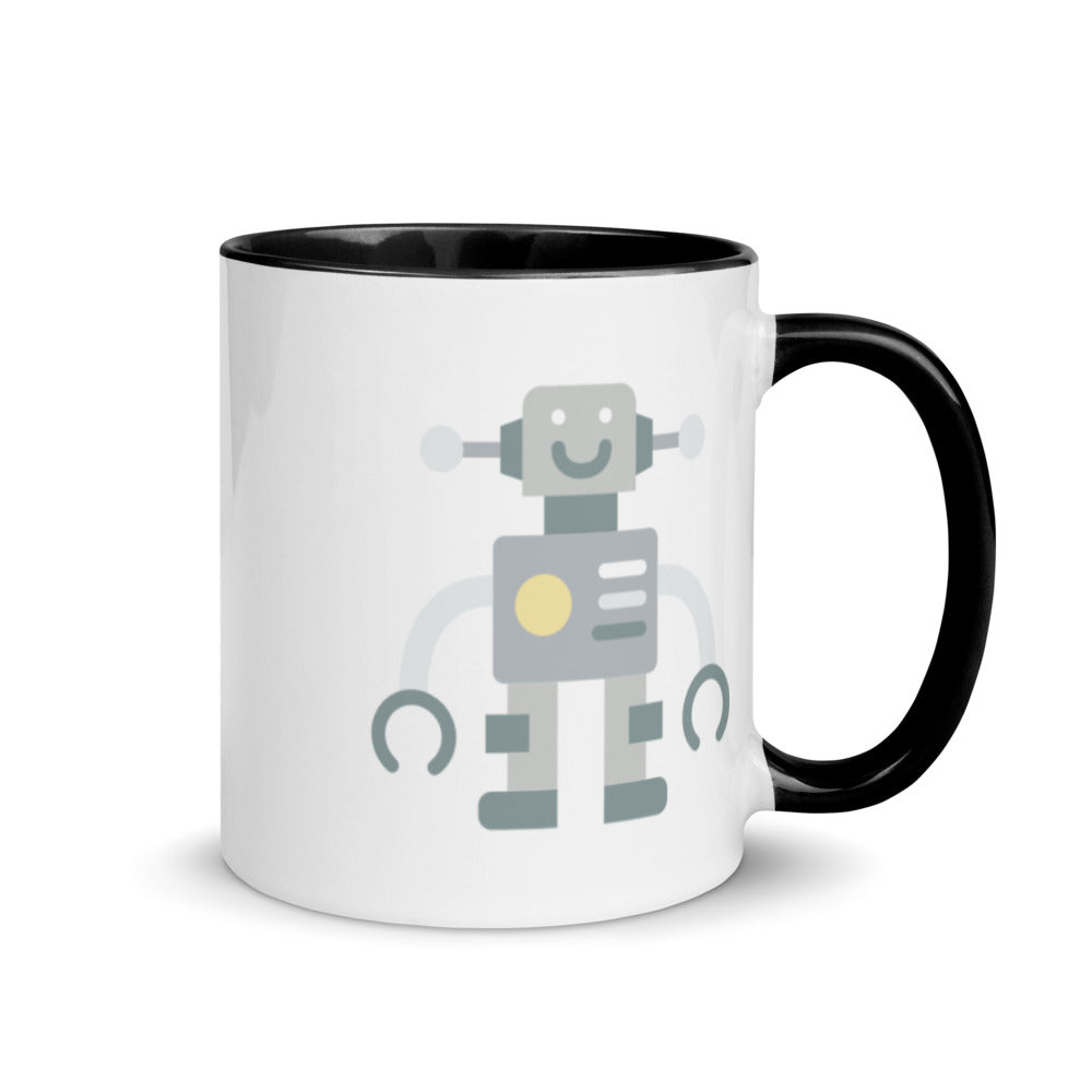 Robot Mug with Color Inside - FRANKdesigns.Co