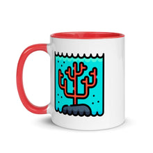 Load image into Gallery viewer, Coral  Reef Mug with Color Inside - FRANKdesigns.Co