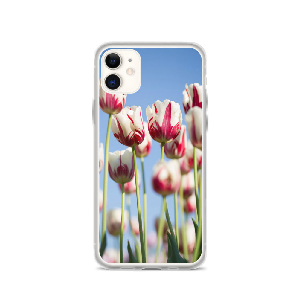 Tulips in a Field IPhone Case - FRANKdesigns.Co