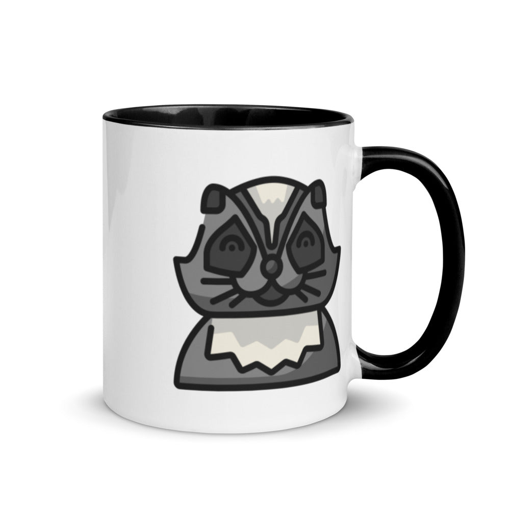 Racoon Mug with Color Inside - FRANKdesigns.Co