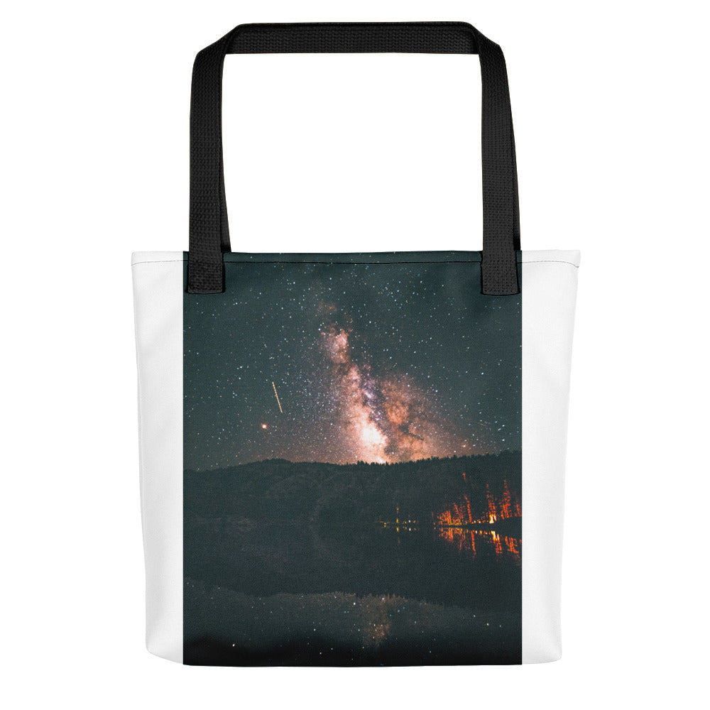 campfire night sky Tote bag - FRANKdesigns.Co