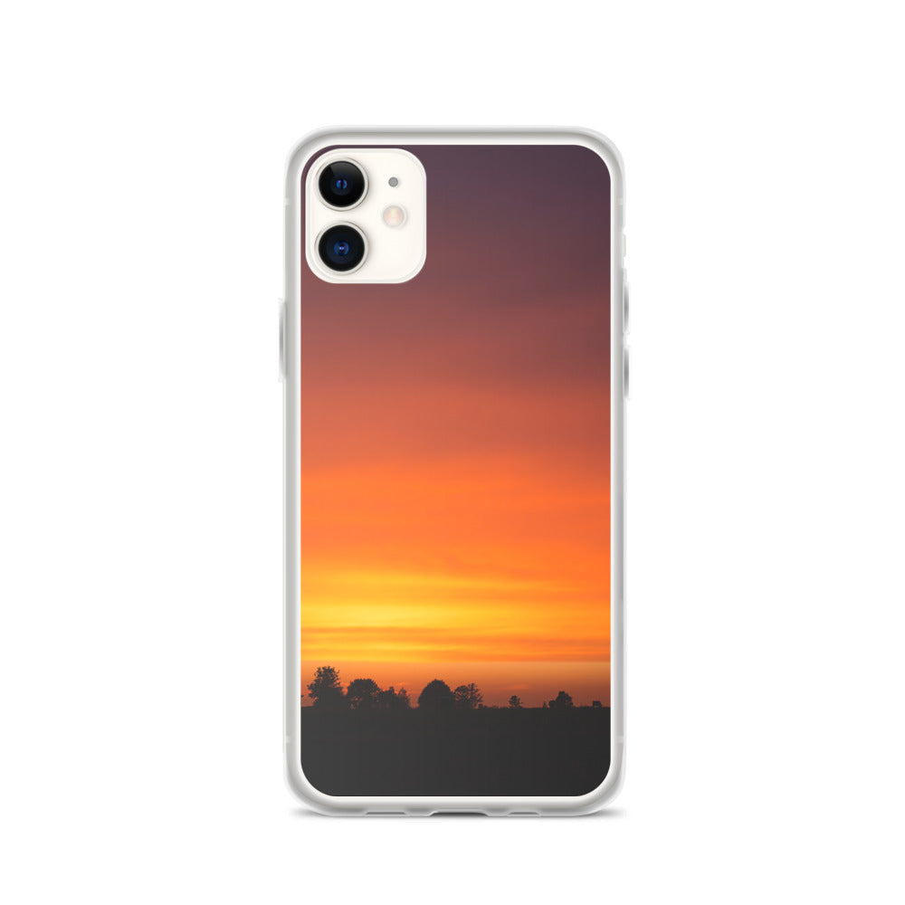 Sunrise over Forrest IPhone Case - FRANKdesigns.Co