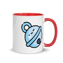 Load image into Gallery viewer, Jingle Bell Mug with Color Inside - FRANKdesigns.Co