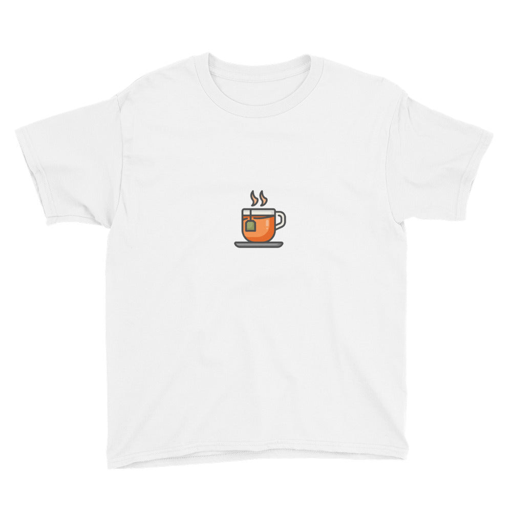 Tea Youth Short Sleeve T-Shirt - FRANKdesigns.Co