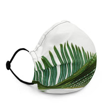 Load image into Gallery viewer, Beautiful Green Leaves 15 Premium face mask - FRANKdesigns.Co