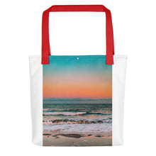 Load image into Gallery viewer, Sunset over sea Tote bag - FRANKdesigns.Co