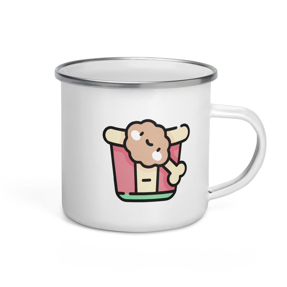 Fried Chicken Enamel Mug - FRANKdesigns.Co