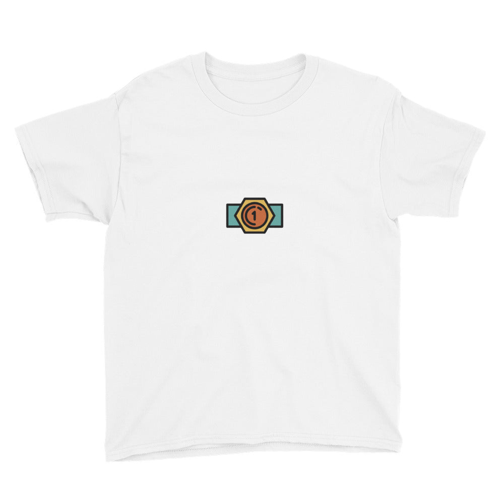Championship Belt Youth Short Sleeve T-Shirt - FRANKdesigns.Co