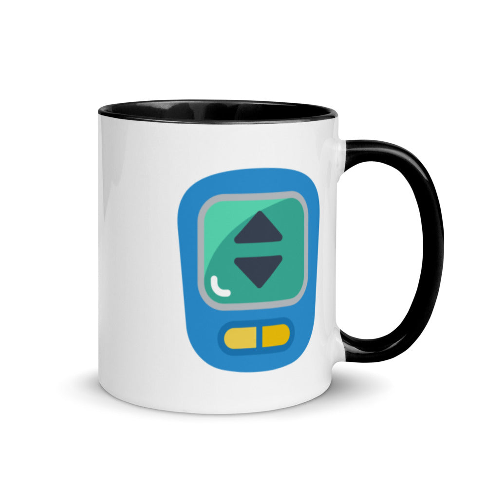 Pedometer Mug with Color Inside - FRANKdesigns.Co