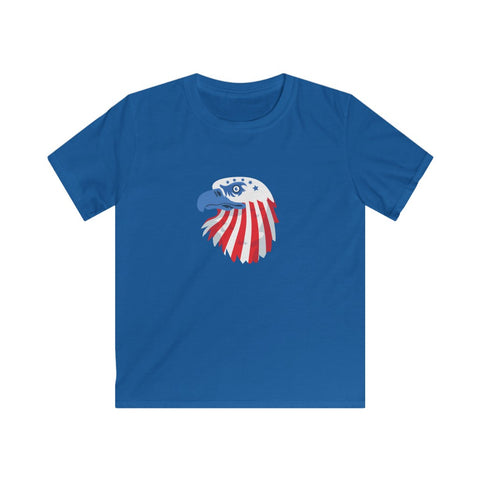 USA Eagle Kids Softstyle Tee