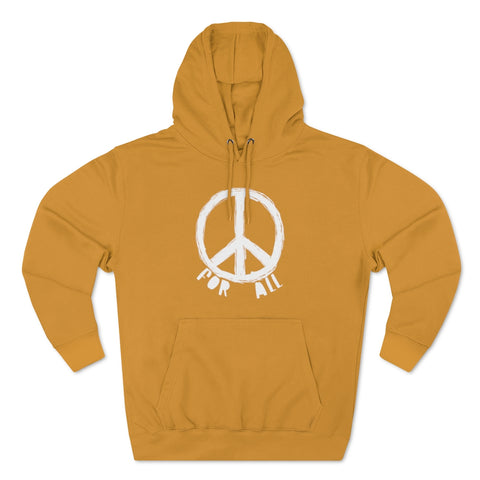Peace for All Unisex Premium Pullover Hoodie