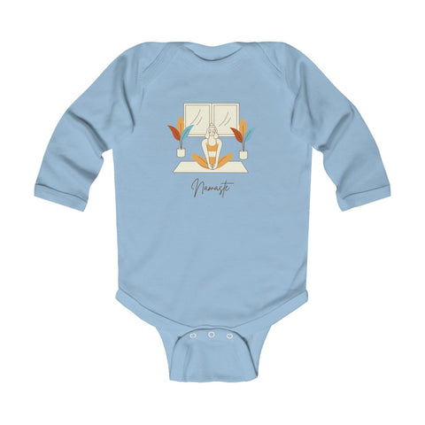 Namaste Infant Long Sleeve Bodysuit