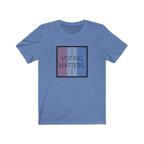Voting Matters Inspirational Tee