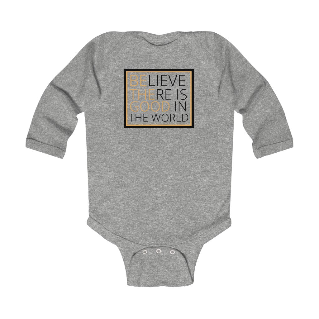 Be the Good Infant Long Sleeve Bodysuit