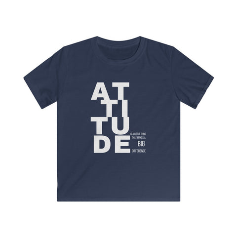 Positive Attitude Kids Softstyle Tee