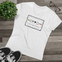Load image into Gallery viewer, Retro Cassette Organic Men's V-neck
