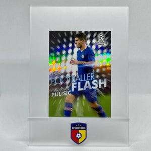 2019-20 Topps Chrome UEFA Champions League Flash Footballer Christian Pulisic FF-CP - Buysoccercards