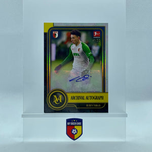 2020 Topps Bundesliga Museum Collection Ruben Vargas Archival Autograph Gold/50 AA-RV - Buysoccercards