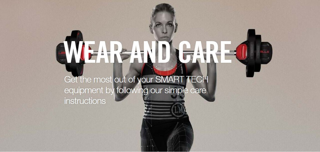 Les Mills wear and care information