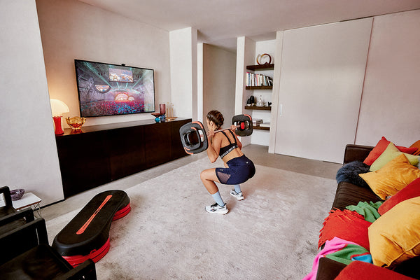 Working out at home exercise by Les Mills