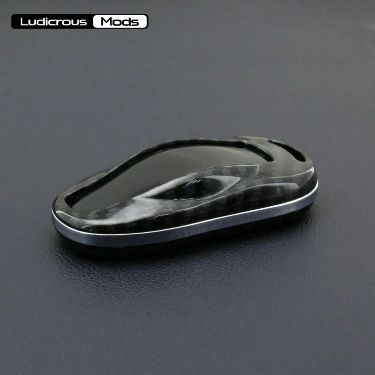 Carbon Fiber Hard Shell Car Key Case