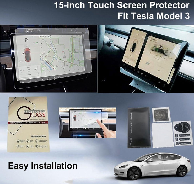 "Tempered Glass 15"" HD Touch Screen Protector"