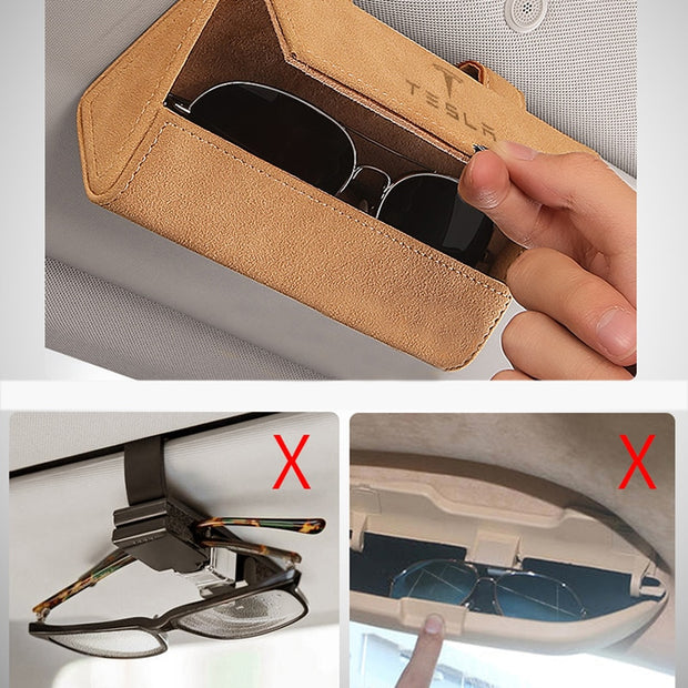 Sun Visor Glasses Box