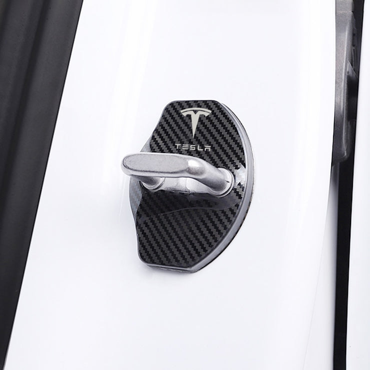 Carbon Fiber Style Lock Cover