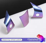 Chameleon Series Steering Wheel Patch Set