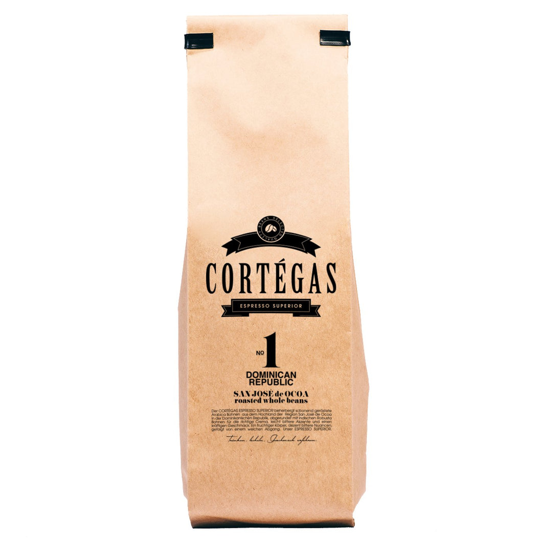 Cortegas Espresso Superior - Direct Trade