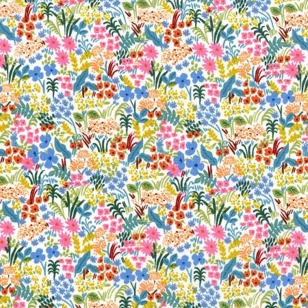 C+S Rifle Paper Co. English Garden Meadow - Cream Fabric
