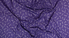 Load image into Gallery viewer, C+S Mystical by Elena Essex - Shooting Stars - Midnight Blue Metallic Fabric