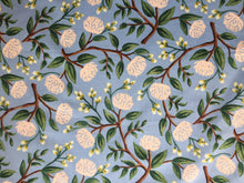 Load image into Gallery viewer, C+S Rifle Paper Co. Wildwood Peonies Dusty Blue