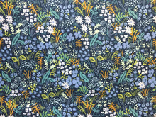 Load image into Gallery viewer, C+S Rifle Paper Co. English Garden Meadow - Blue Fabric