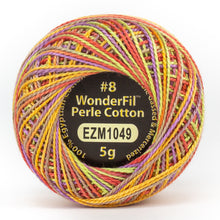 Load image into Gallery viewer, Wonderfil Eleganza 8wt Egyptian Cotton Thread Variegated
