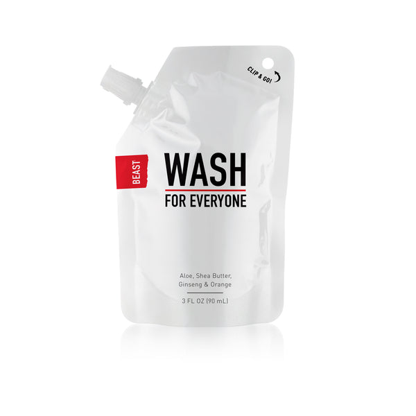 Beast Hair & Body Wash for Everyone with Ginseng and Orange
