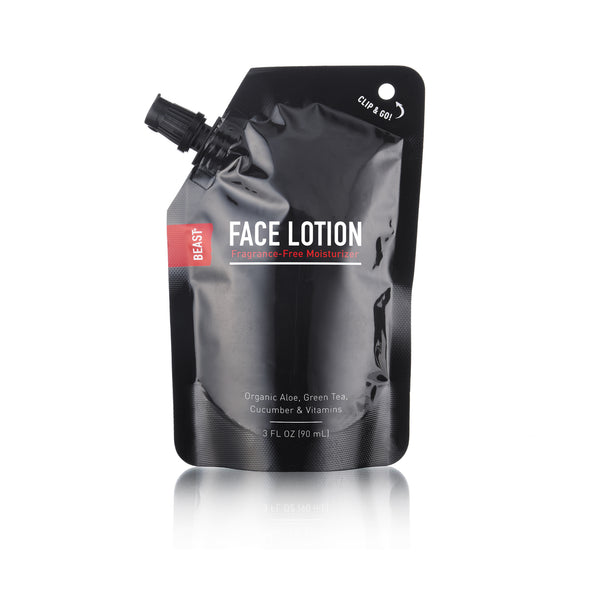 Face Lotion Travel Refill Pouch