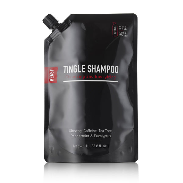 Tingle Shampoo Refill Pouch 1 Liter