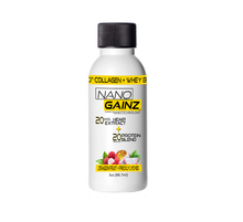 Load image into Gallery viewer, 4pk Dragon Fruit - Nano Gainz 20g Protein + 20mg CBD