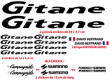 Kit Stickers Autocollants XXL Gitane - STICKERS PERSO