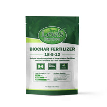 Load image into Gallery viewer, 10lb Bag of Biochar Fertilizer by Lewis Bamboo