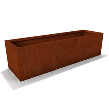 Load image into Gallery viewer, Rectangle Corten Steel Planter