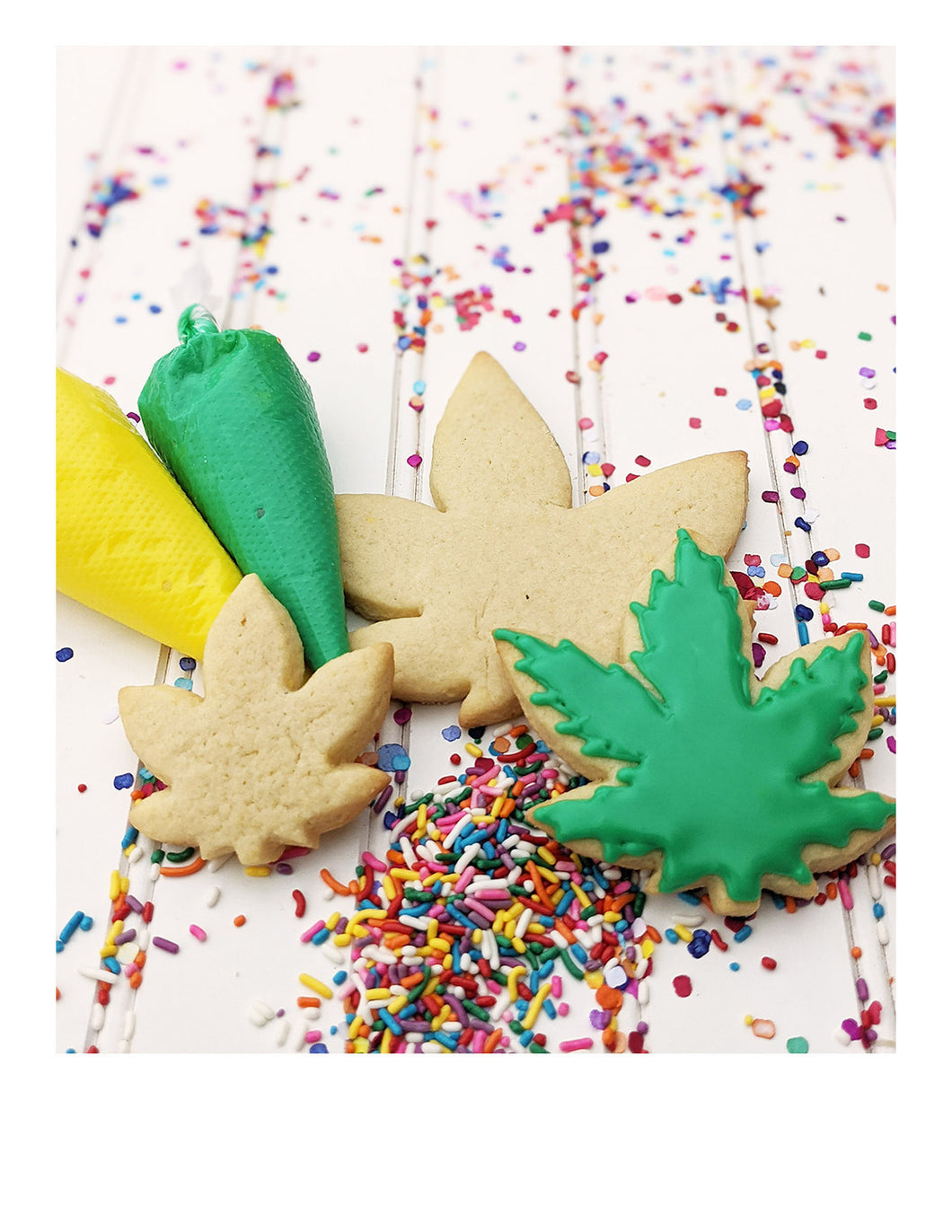 DIY 420 sugar cookie kit