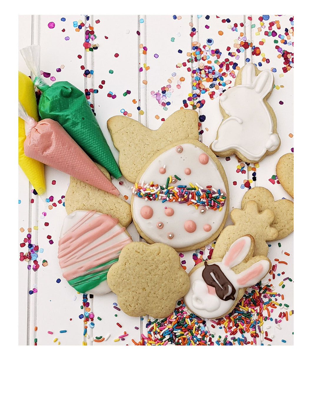 DIY Easter sugar cookie kit