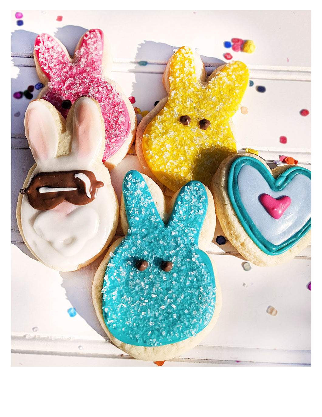 Decorated Easter Sugar Cookies
