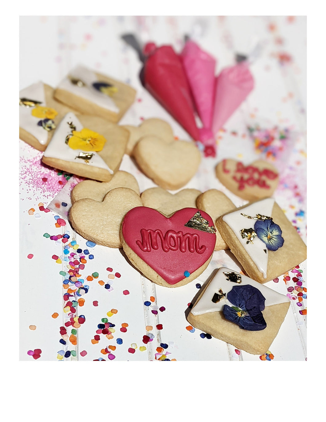 mother's day combo cookie box