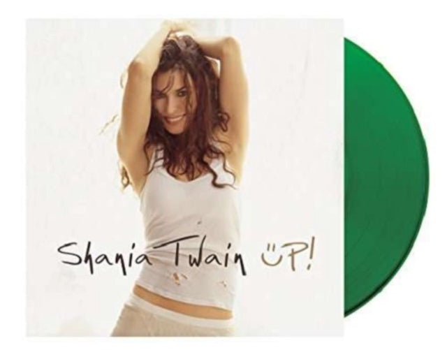 SHANIA TWAIN - UP! Double Green Vinyl LP