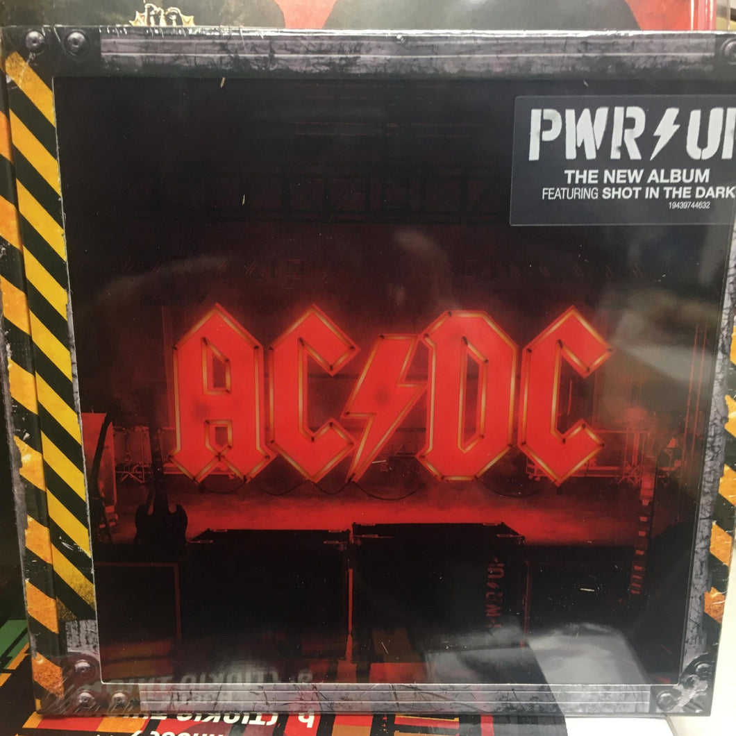 AC / DC - Power Up. LIGHT BOX STAGE CD Deluxe Edition