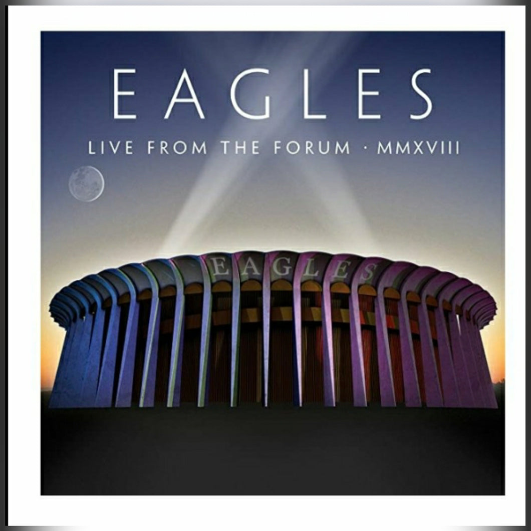 Eagles VINYL BOX SET (2020) Live From The Forum MMXVIII : FOUR LP LIVE BOX SET